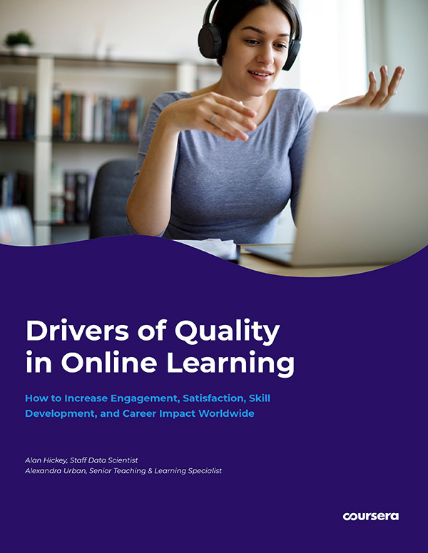 Report: Drivers of Quality in Online Learning (2020)